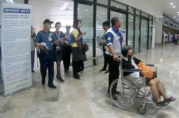 wheelchair attendant