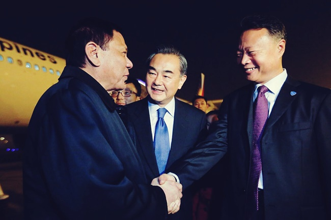 PANGULONG DUTERTE IN CHINA