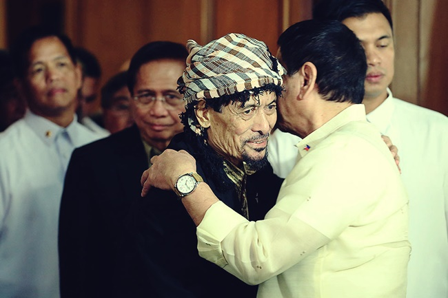 PANGULONG DUTERTE AND NUR MISUARI
