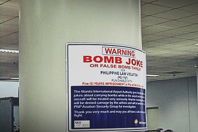 BOMB JOKE