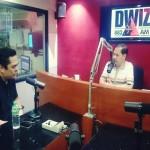 PCO Secretary Martin Andanar visits DWIZ