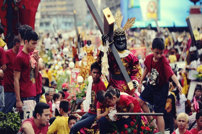 Black Nazarene procession ahead of feast day celebrations