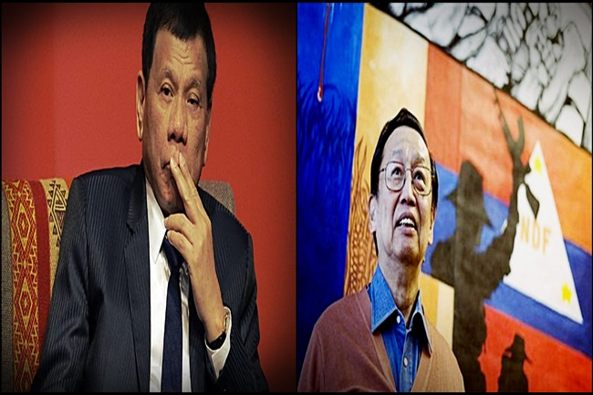 DUTERTE AND SISON
