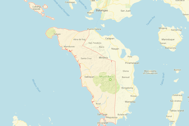 occidental mindoro