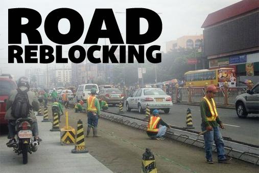 road-reblocking