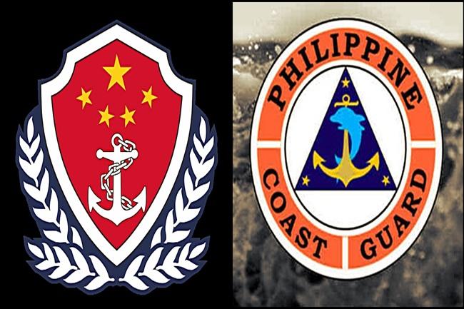 CHINA AND PH COAST GUARD
