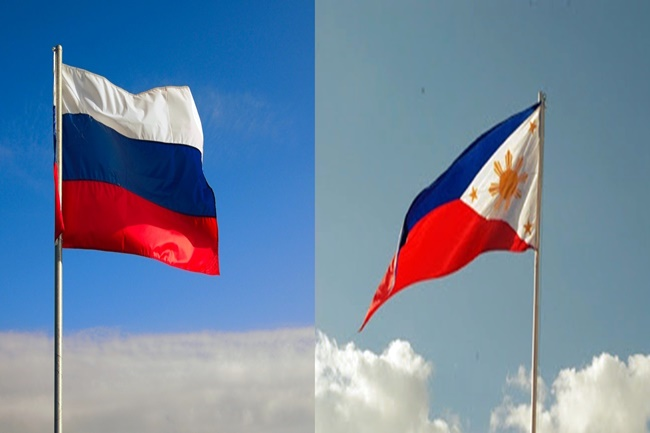 RUSSIA AND PH FLAG