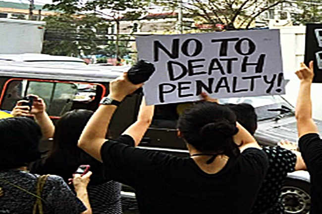 STUDENTS NO TO DEATH PENALTY