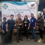 Matagumpay na medical-dental mission ng Our Lady of Lourdes Hospital at DWIZ Metro Patrol