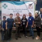 Matagumpay na medical-dental mission ng Our Lady of Lourdes Hospital at DWIZ Metro Patrol