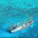 Pagdaan ng mga barko sa Tubbataha Reef pinagbabawal na