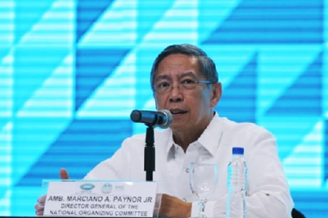 ASEAN 2017 Director General for Operations Ambassador Marciano Paynor