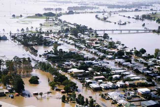 FLOOD IN AUSTRALIA