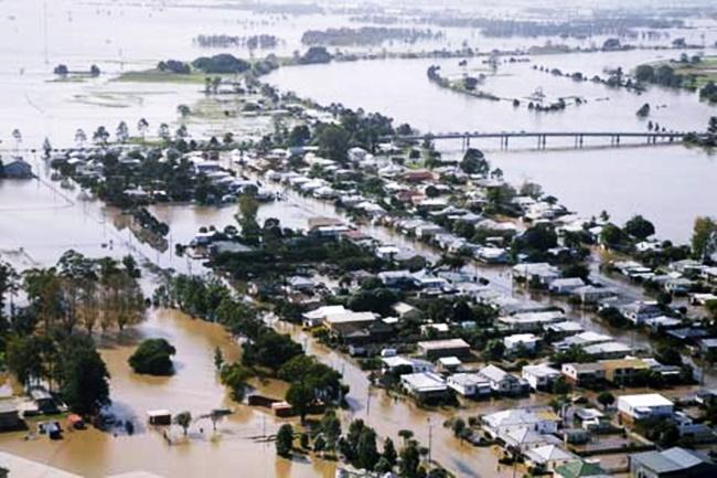 FLOOD IN AUSTRALIA