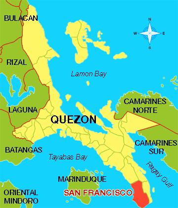 Bangka lumubog sa Quezon province noong Biyernes Santo DWIZ Mas