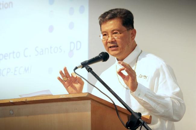 Balanga Bishop Ruperto Santos