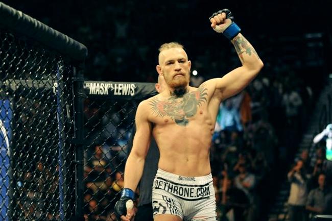 MMA Fighter Conor Mcgregor