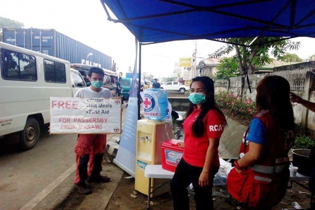 PH RED CROSS MARAWI BY RED CROSS