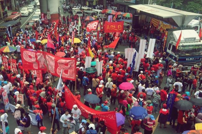PROTESTA LABOR DAY
