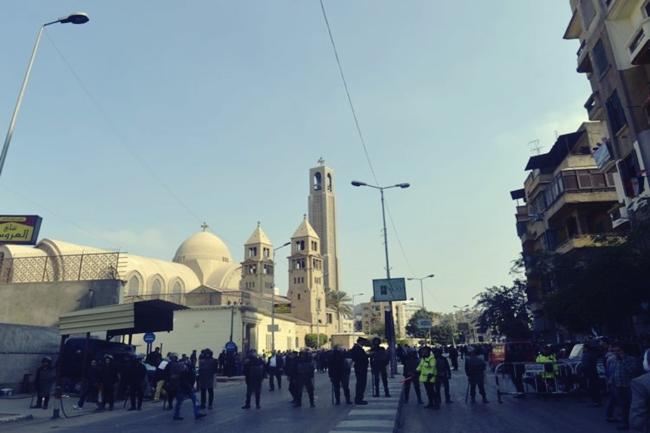 EGYPT-UNREST-BLAST-RELIGION