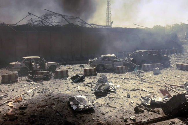 kabul car suicide attack