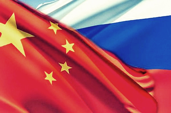 russi a china
