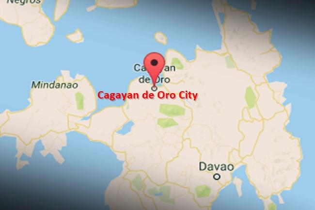 Cagayan de Oro City map