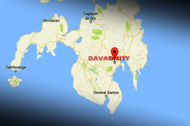 DAVAO CITY MAP