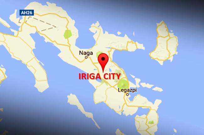IRIGA CITY MAP