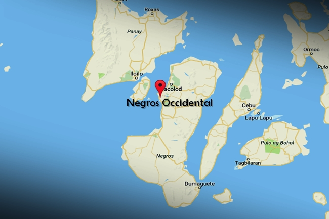 NEGROS OCCIDENTAL MAP