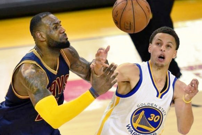 golden state warriors and cavs