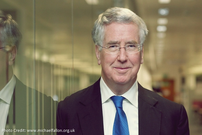 Defence Minister Michael Fallon