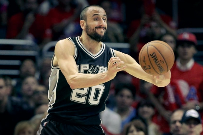 Four-time NBA Champion Manu Ginobili