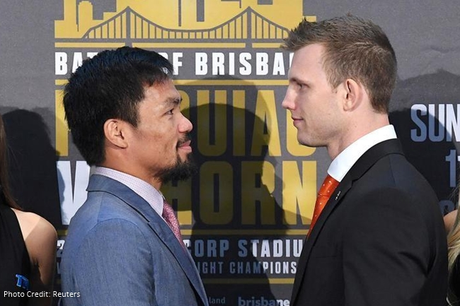 PACQUIAO HORN BOUT
