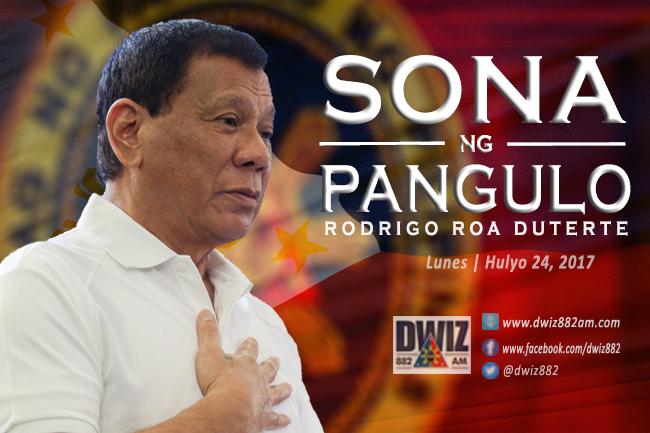 SONA NG PANGULO HULYO 24 2017
