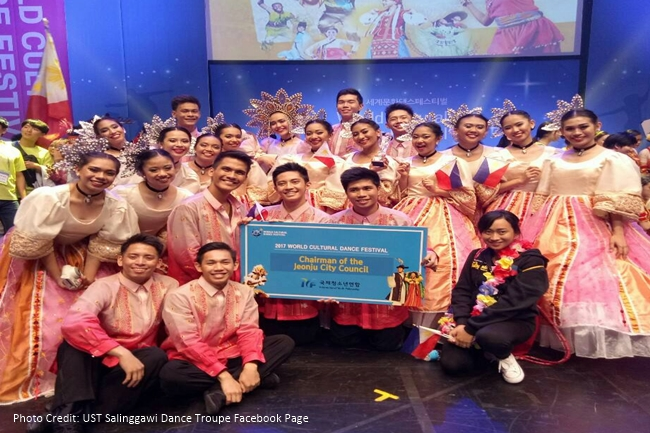 UST Salinggawi Dance Troupe