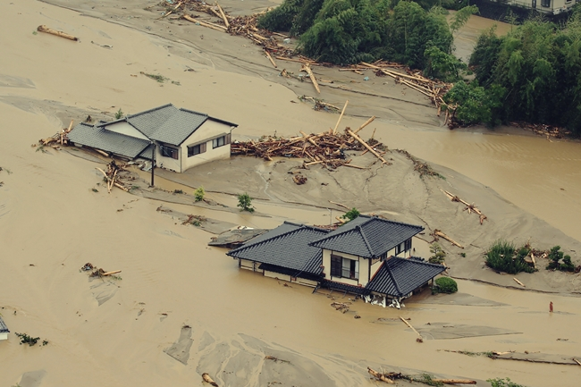 JAPAN-WEATHER-FLOOD
