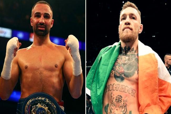 Boxing Champion Paulie Malignaggi and Connor Mcgregor