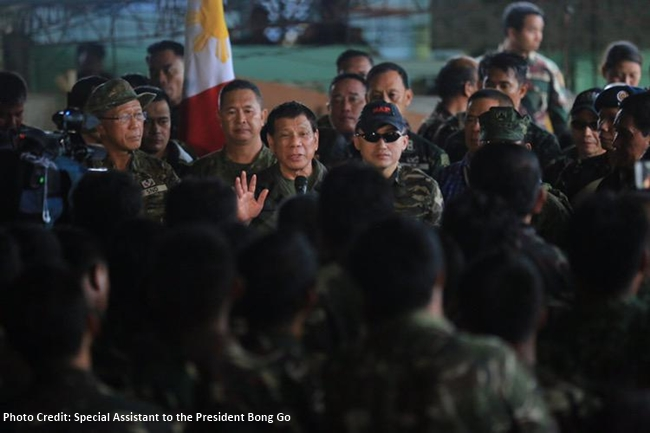 DUTERTE IN MARAWI 2ND TIME 2