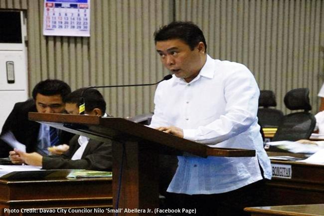 Davao City Councilor Nilo 'Small' Abellera Jr.
