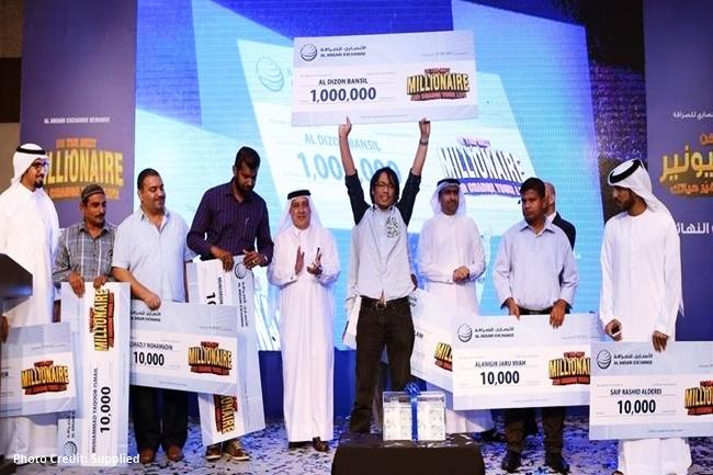 Filipino engineer sa Dubai nanalo ng halos P13-M sa isang grand raffle draw