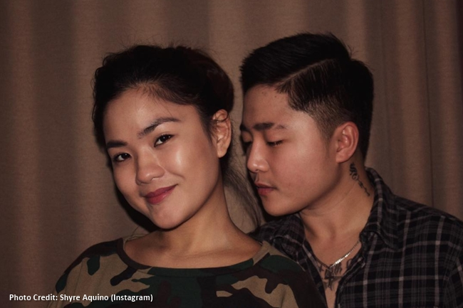 JAKE ZYRUS AND Shyre Aquino 2