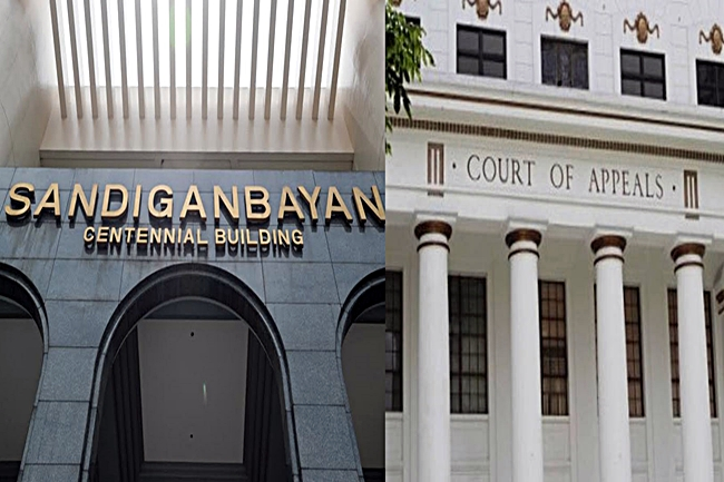 SANDIGANBAYAN AT COURT OF APPEALS