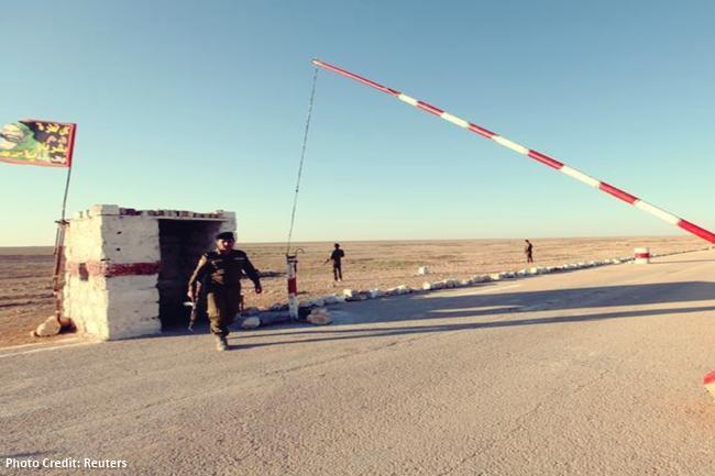 reuters photo saudi-iraq border