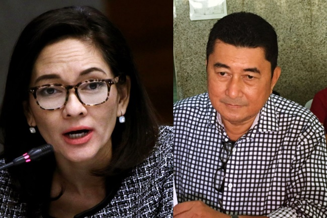 Cong. Paras kay Sen. Hontiveros She should also resign