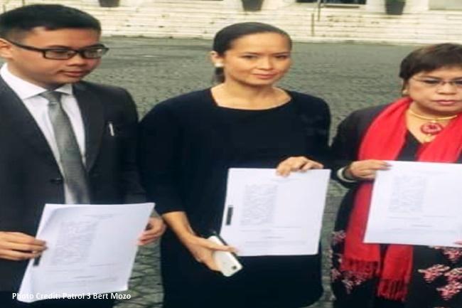 Disbarment case vs UST Law Dean at 20 iba pa isinampa ni Patricia Bautista