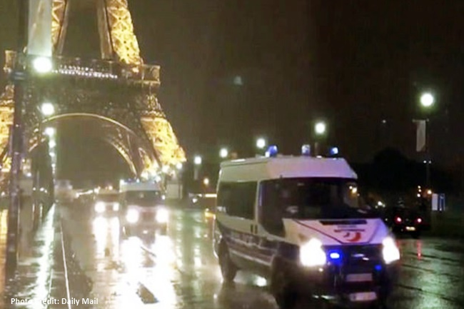 Eiffel Tower sa Paris pansamantalang nilagay sa lockdown