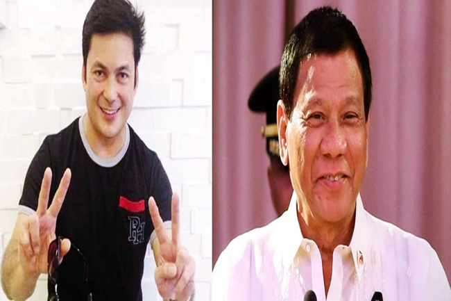 GABBY CONCEPCION AND PANGULONG DUTERTE