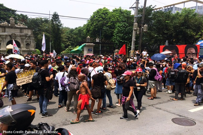 LUMAD AT PROTEST
