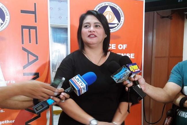 NDRRMC Spokesperson Romina Marasigan